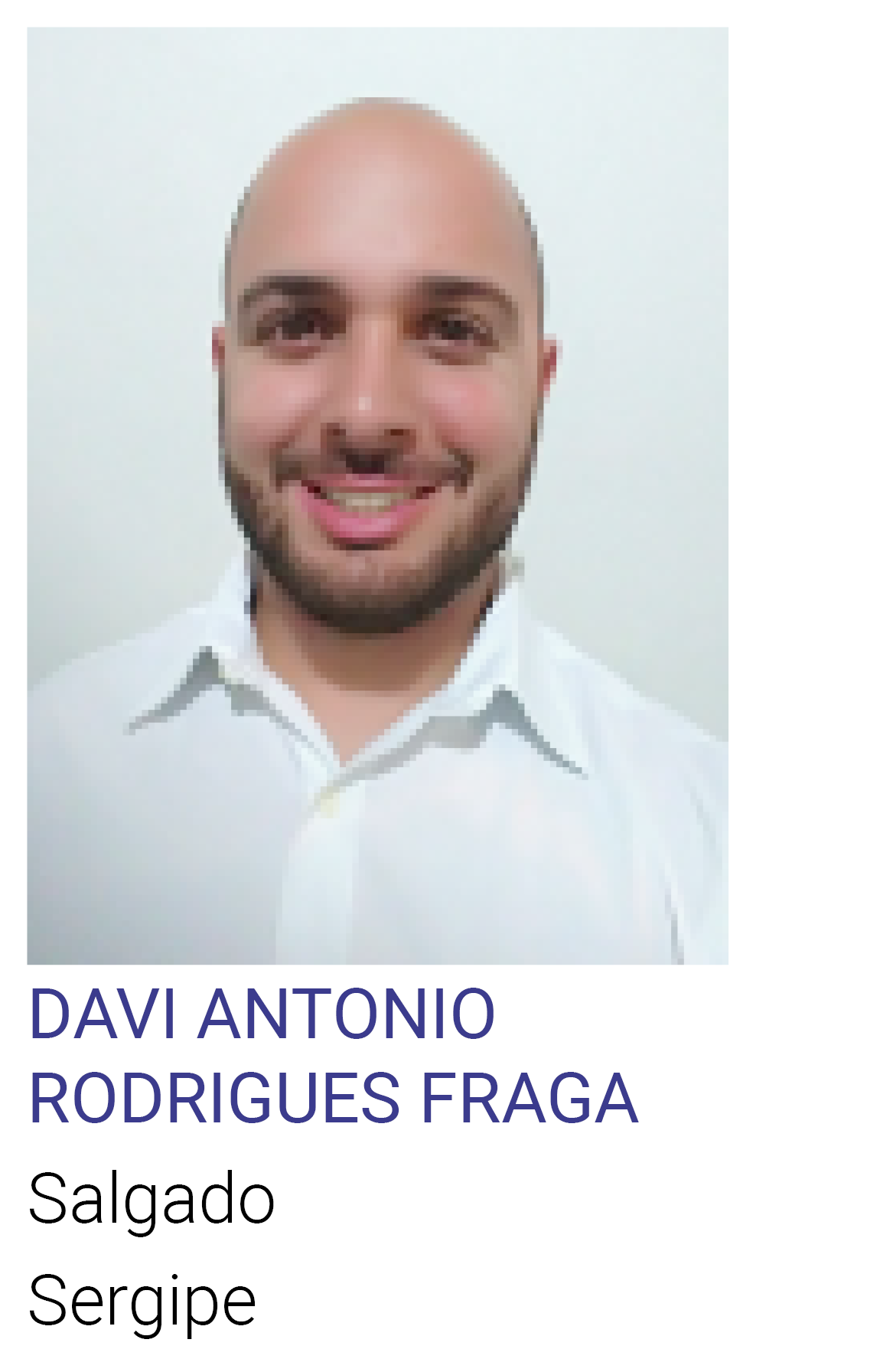DAVI ANTONIO RODRIGUES FRAGA