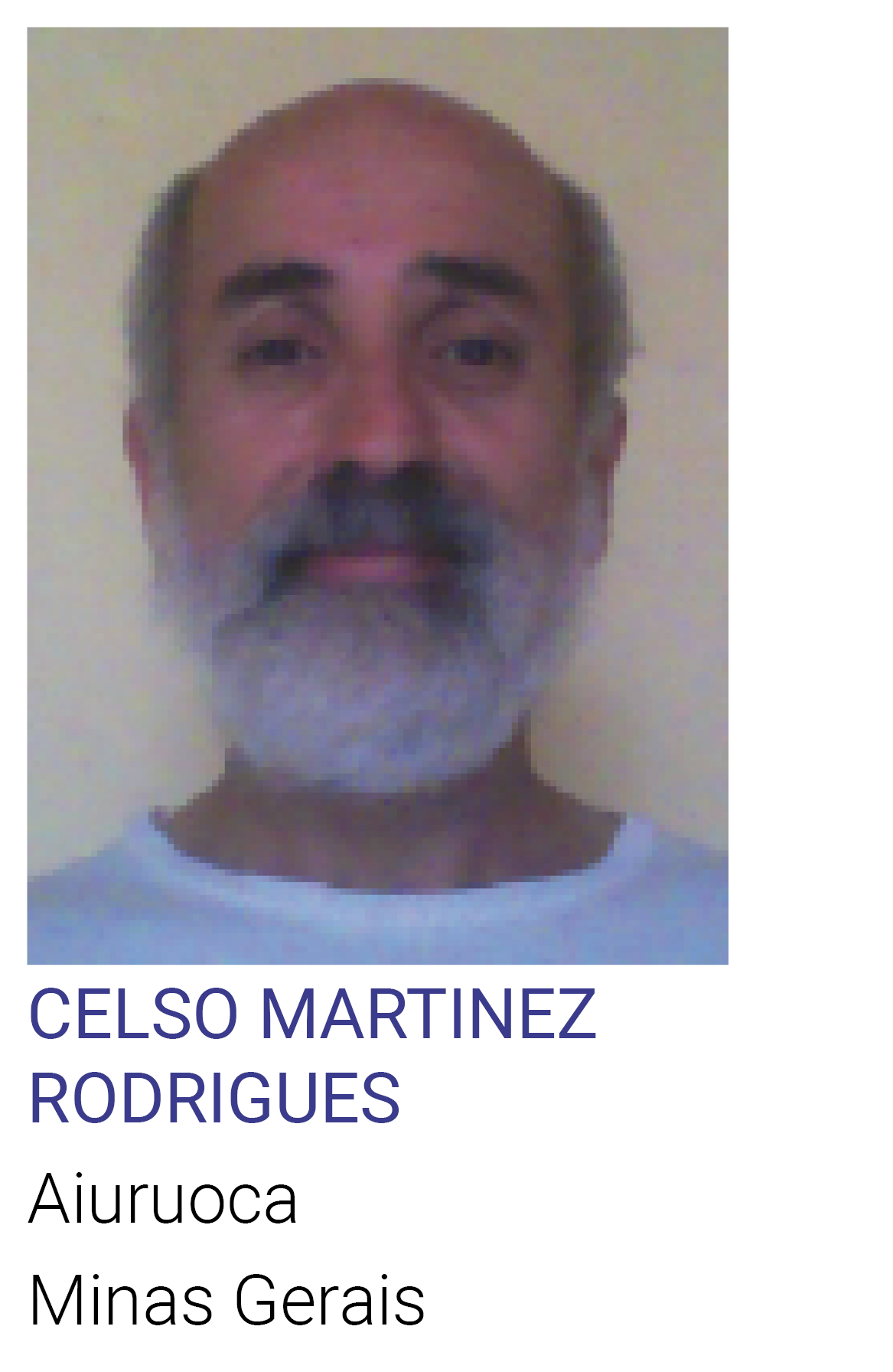 CELSO MARTINEZ RODRIGUES