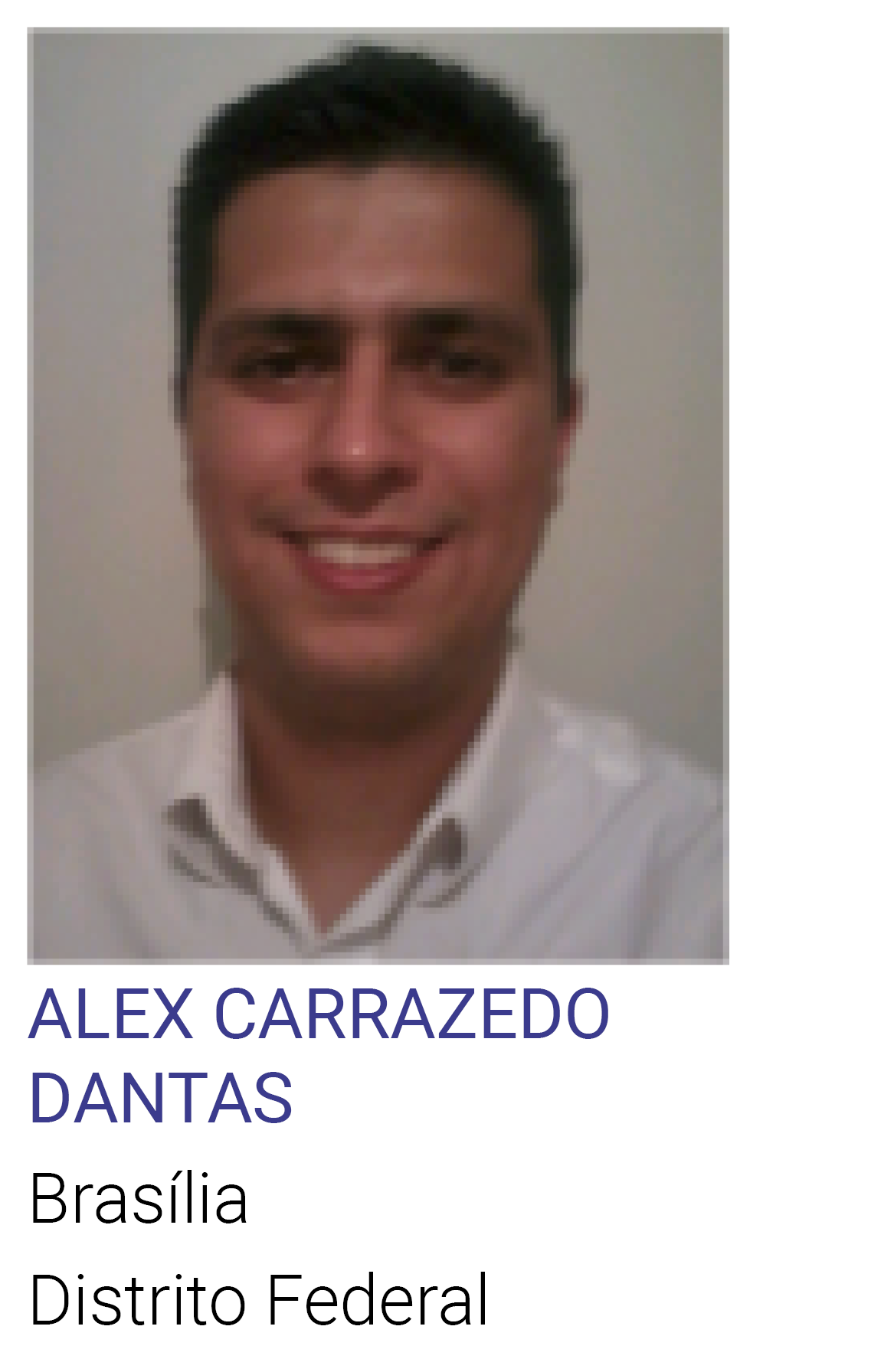 ALEX CARRAZEDO DANTAS