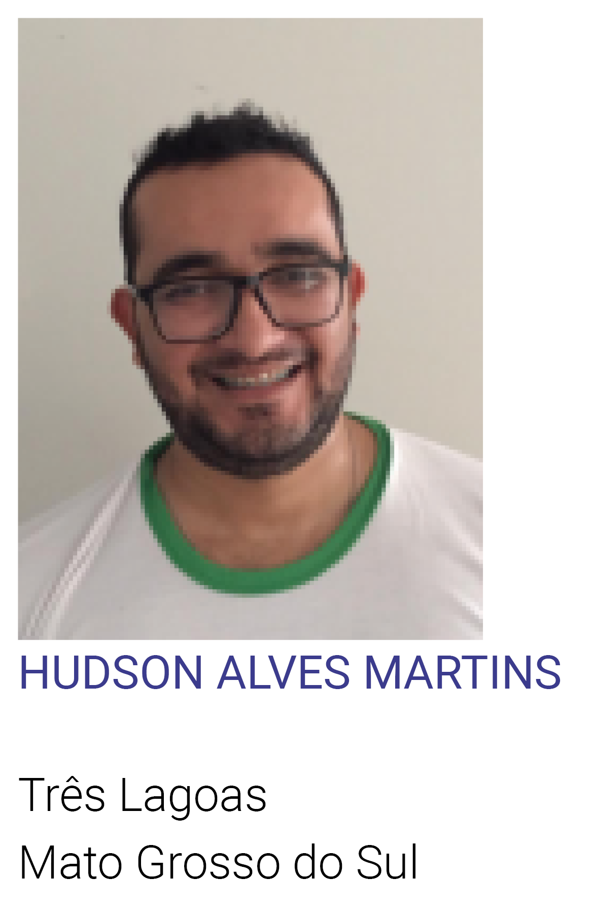 HUDSON ALVES MARTINS